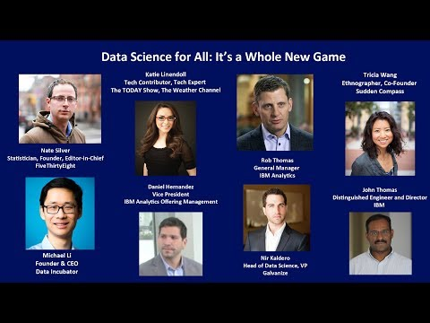 Data Science for All: It's a Whole New Game