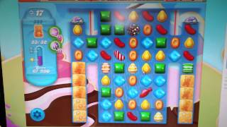 Candy Crush Soda Saga Level 385 - 2 Stars No Boosters!