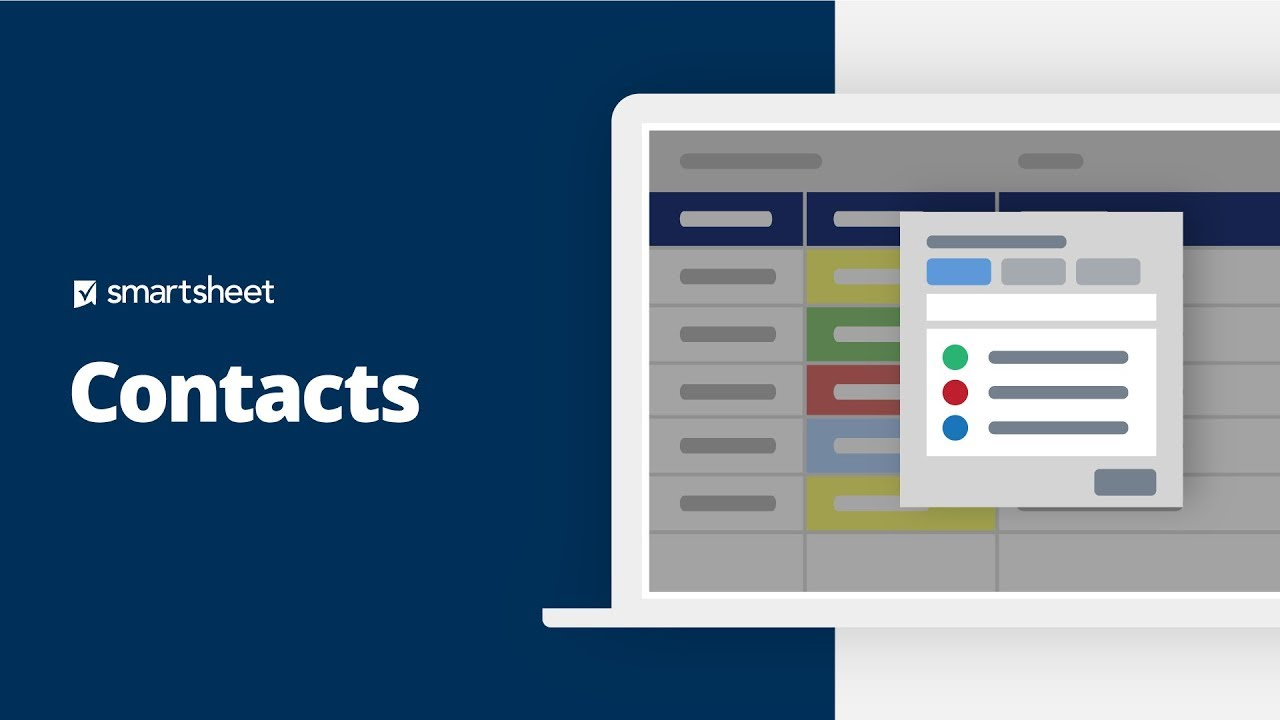 Contacts | Smartsheet Learning Center