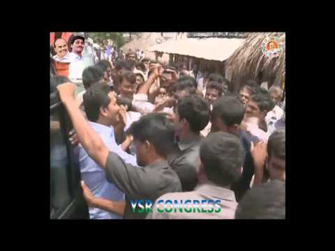 YS Jagan visits Locals faces problems with Toxic fever in Kotha Majeru village at Krishna district.