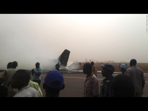 South Sudan plane crash All on board survive miraculous landing youtube video news