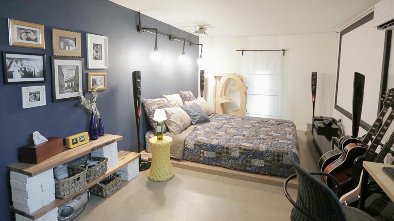 인테리어 아이디어 가득 침실, 페인트 한 통이면 OK (하우스 ...