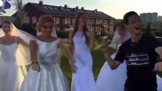 Ксения Бородина в свадебном платье