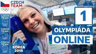 Tohle je nejmladší česká závodnice. Už je v Koreji! | Olympiáda online