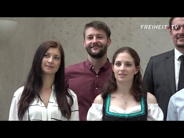 """""""Wir wollen eine freie Zukunft"""" – Der Filmbericht zur Kandidatenvorstellung"""