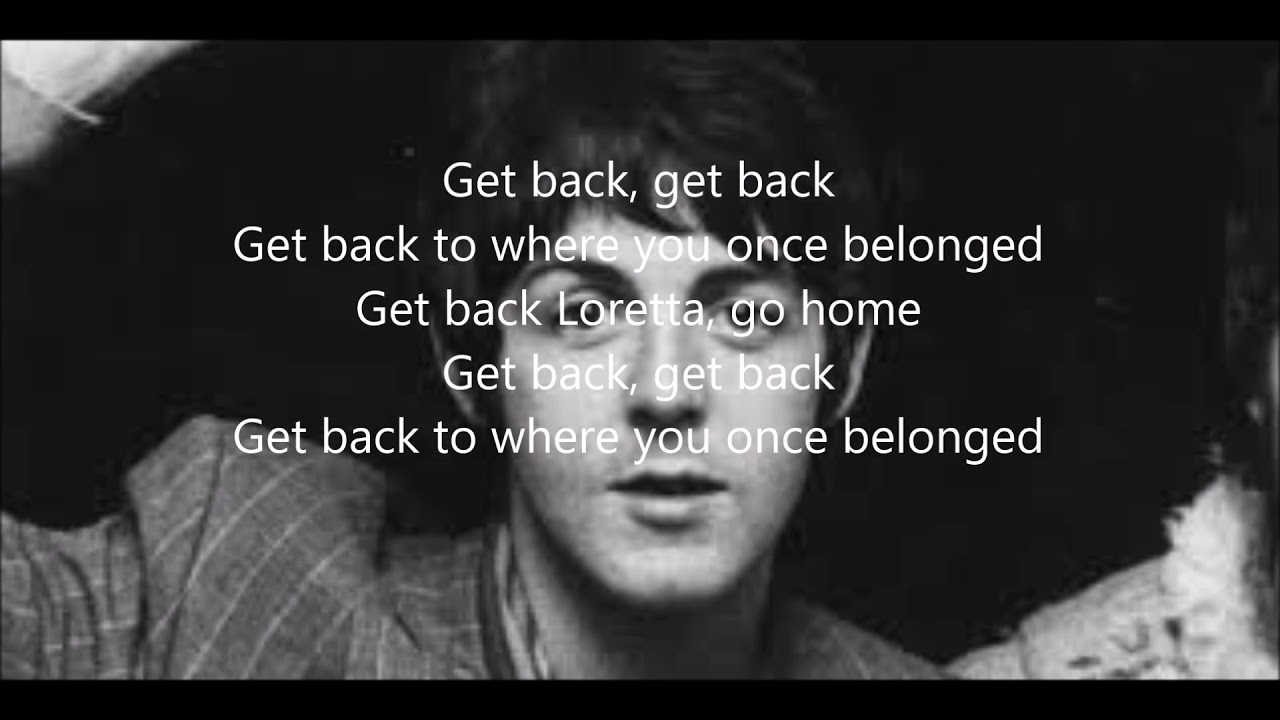 Get you back lyrics