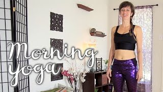 Video Morning Yoga Practice - Energizing & Feel Good Fire Sequence :D download MP3, 3GP, MP4, WEBM, AVI, FLV Maret 2018