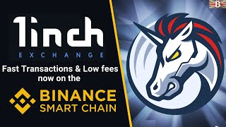 How to use 1inch Excнange on Binance Smart Chain (BSC) with Low Transaction Fees