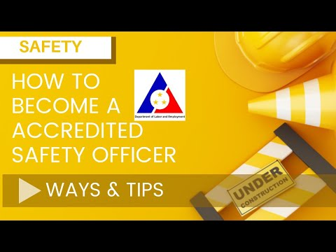 HOW TO BECOME A SAFETY OFFICER?