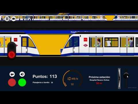 Metro Madrid 2-D Nueva Versión De (2019)