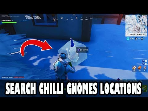 Search Chilli Gnomes Locations - ALL 7 LOCATIONS EASY GUIDE! Season 7 Week 6 Challenges