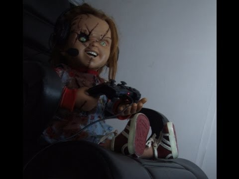chucky doll gets angry playing battlefield 3 on ps3 youtube