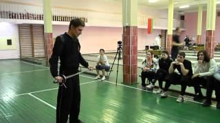 видео болонская школа фехтования