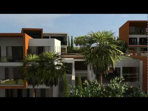 Halcyon luxury seafront villas in Limassol, Cyprus