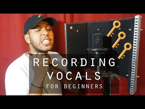 5 Tips For Vocal Recording at Home! - Recording Vocals For Beginners 2016