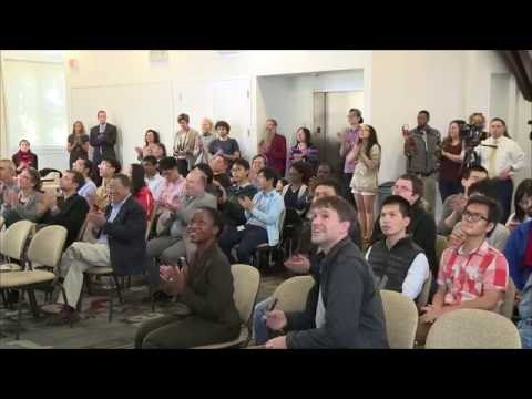 Nobel Laureate and Brown Professor, Dr. J. Michael Kosterlitz -- Press Conference