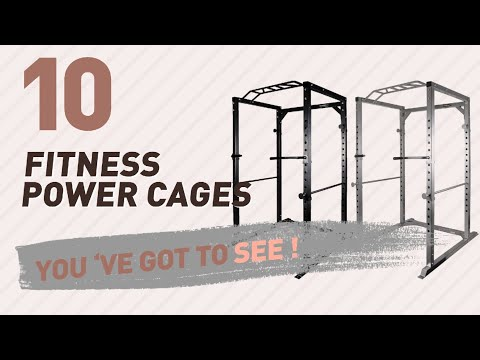 Strength Training Equipment - Power Cages // Amazon UK Most Popular