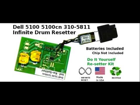 Drum Chip Reset 5100 Dell  310 581