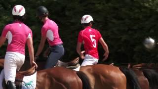 Pénélope Leprévost découvre le Horseball
