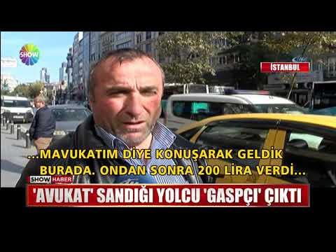 """""""Avukat"""" sandığı yolcu """"Gaspçı"""" çıktı"""