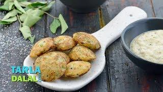 Instant Rava Appe recipe by Tarla Dalal