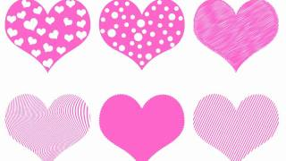 Valentine's Day Hearts - Pink