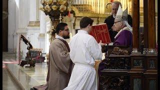 Ordenación diaconal D. Wylliam José Sauce - Arzobispado de Granada
