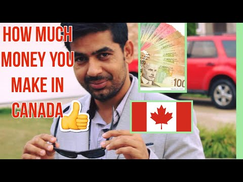 How Much Money You Earn In Canada And Monthly Expenses In Canada