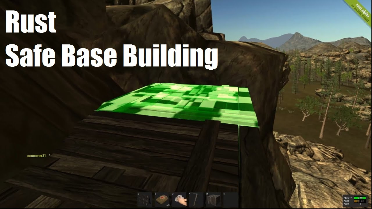 Rust Base Build