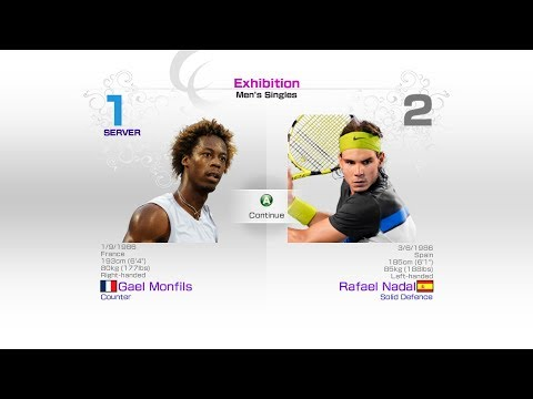 virtua-tennis-4-sega-gael-monfils-vs-rafael-nadal-rafael-nadal-roger-federer-andy-murray