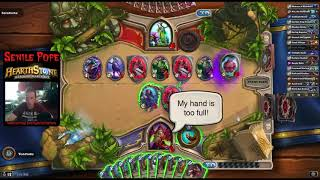Hearthstone BDP: Ranking up with Elemental Shaman, Dr Boom Warrior and Co-op Tavern Brawl
