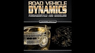 ['PDF'] Road Vehicle Dynamics: Fundamentals and Modeling (Ground Vehicle Engineering)