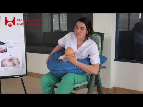 Préparation à la naissance 23: Les positions d'allaitement