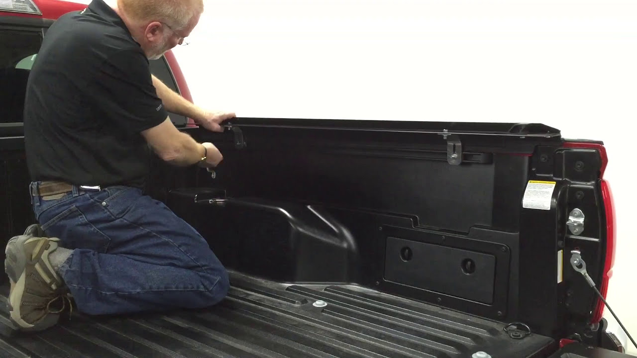 How To Install Access Roll Up Cover Rails On A 2016 Toyota Tacoma Youtube