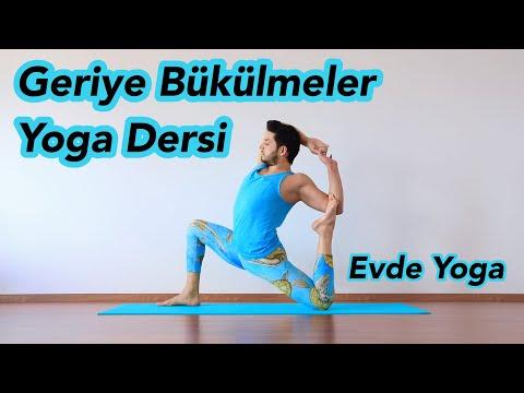 Geriye Bükülmeler Yoga Dersi | Evde Yoga (Her Seviyeye Uygun)