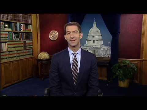 11/27/14 Sen.-Elect Tom Cotton (R-AR) Delivers GOP Thanksgiving Message