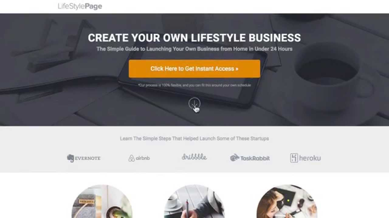 OptimizePress Long Form Landing Page Template - YouTube