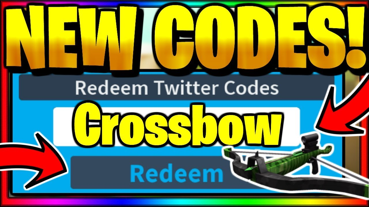 All New Op Working Codes Roblox Island Royale Crossbow Update