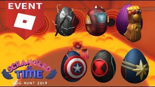How to: Get ALL the Avenger Eggs in Roblox Egg Hunt 2019
