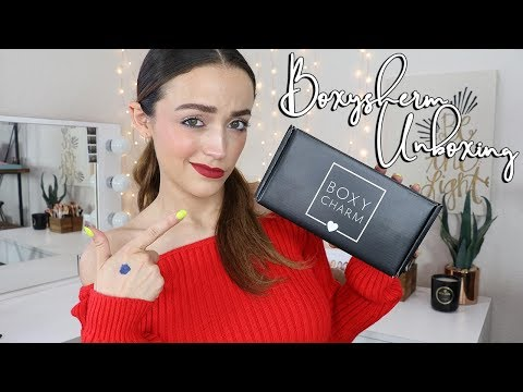 May Boxycharm Unboxing (Try-on Style)   2019