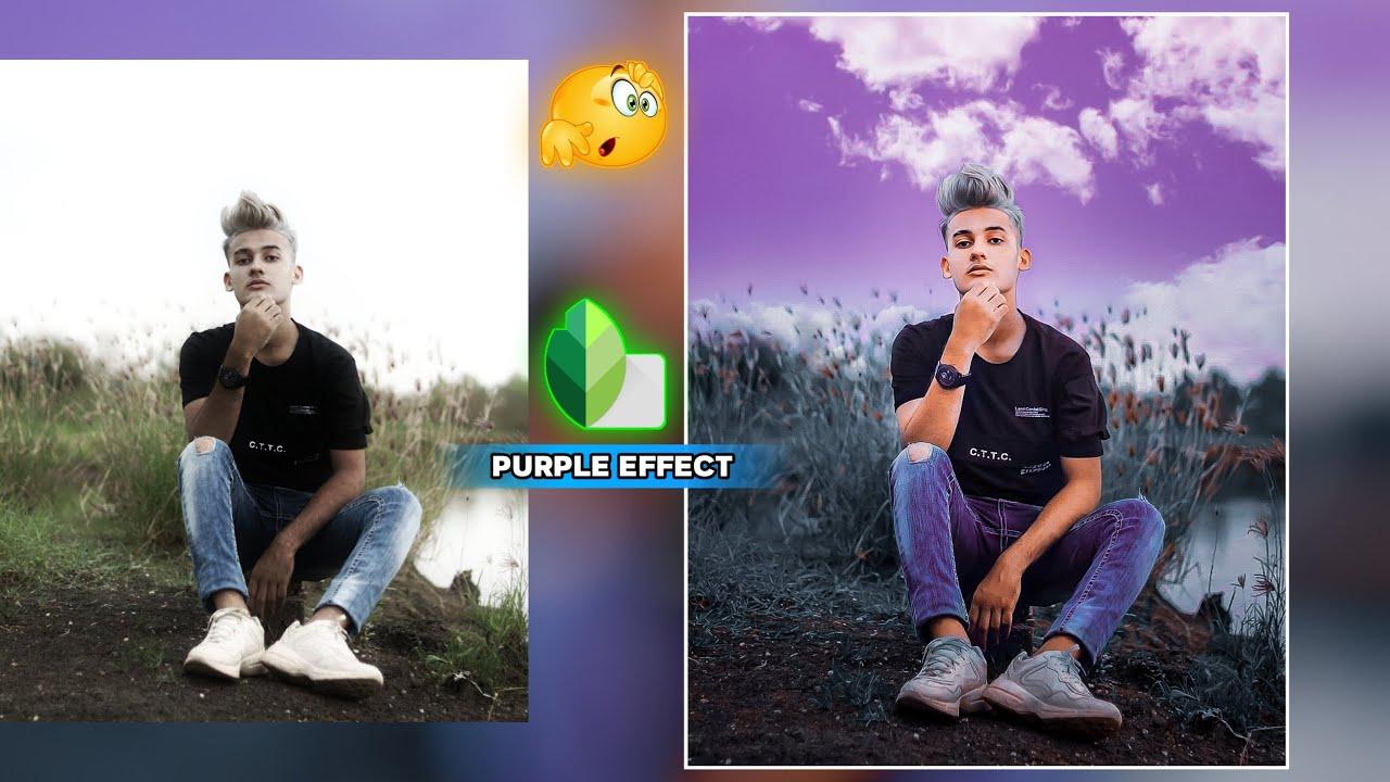 Snapseed sky purple Effect Trick 😲 / Snapseed Photo Editing New [AF EDIT ]