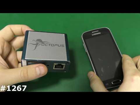 Программатор Octopus. Разблокировка от оператора Samsung S7390. Мои программаторы Часть 2 להורדה