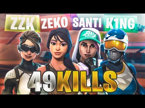 49 KILLS! RECORD SQUAD POP UP ARGENTINO | ft santidead zzk y king