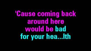 Picture To Burn (Karaoke Version)
