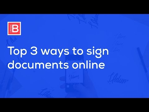 How to Create Electronic and Digital Signature and Sign PDF