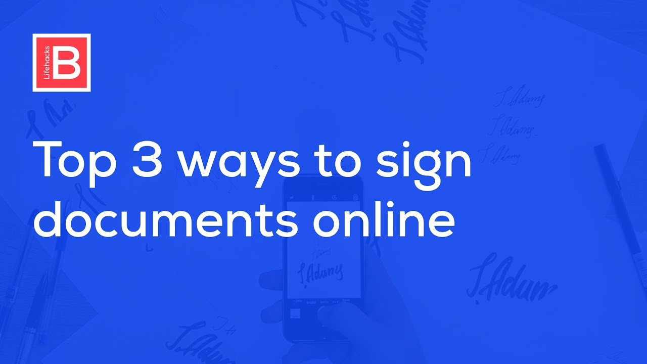 how to create electronic signature windows 10