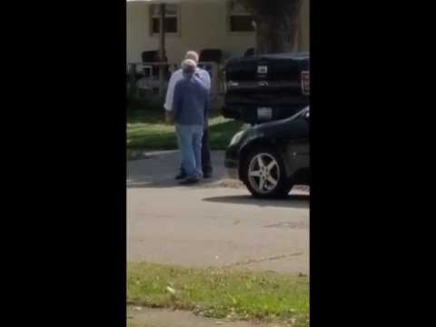 Police Road Rage, Intimidation, and Clear Abuse of Power.  Riverside, Ohio.