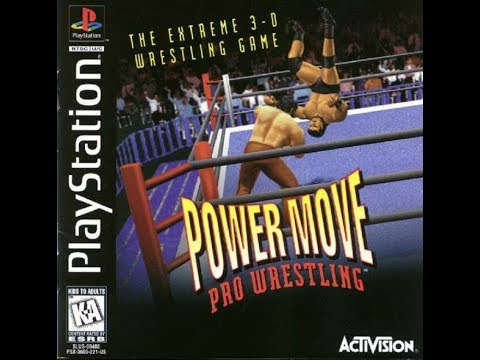 Power Move Pro Wrestling (PS1 Gameplay) 12/31/19