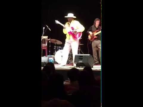 "Eddy ""The Chief"" Clearwater's live performance at University of Chicago"