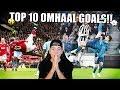 TOP 10 BESTE VOETBAL OMHAAL GOALS ALLER TIJDEN!!